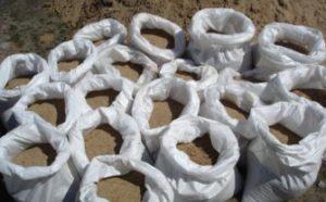 Пескосоляная смесь в мешках 50кг