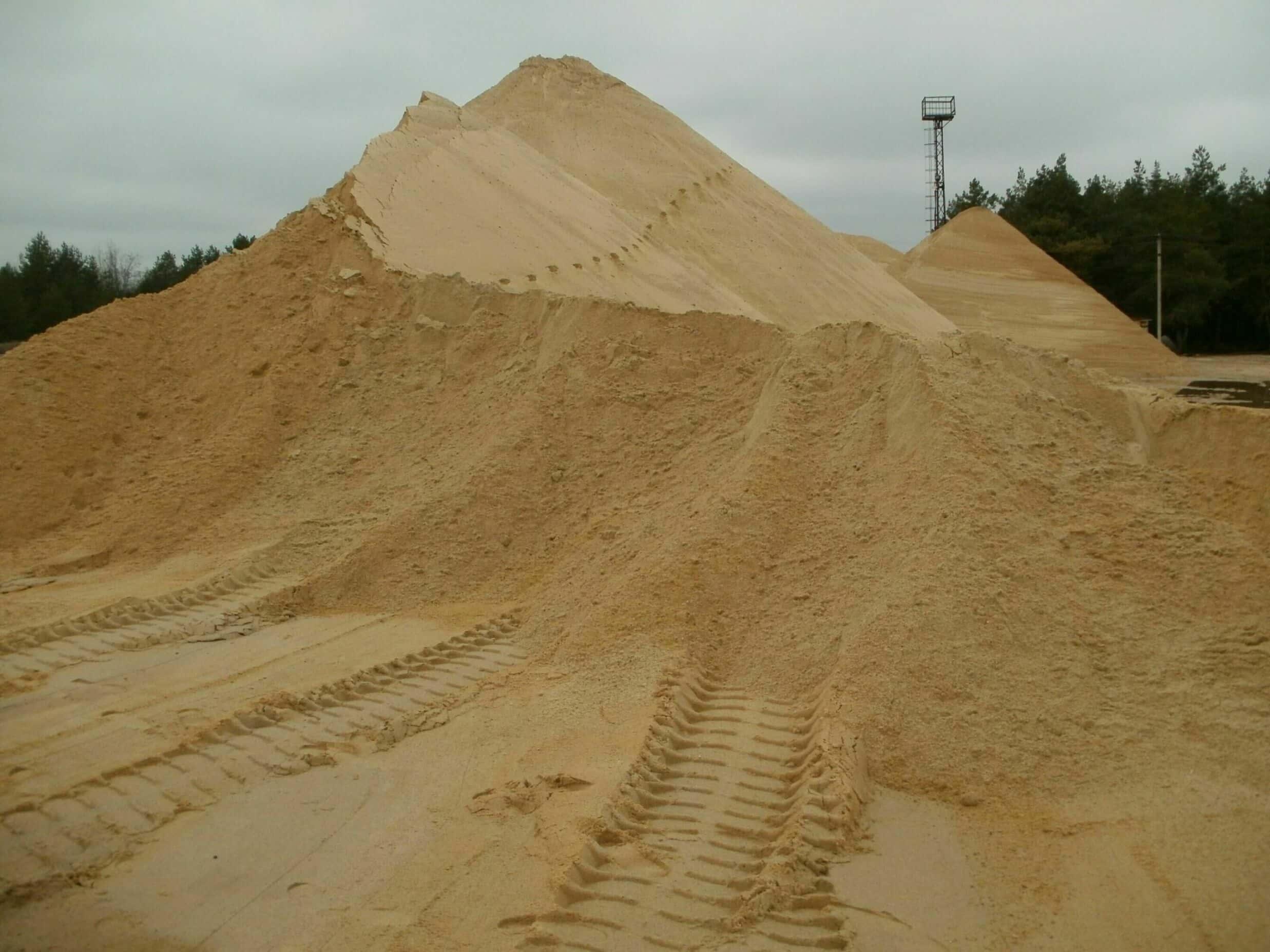 Песок во Владимире